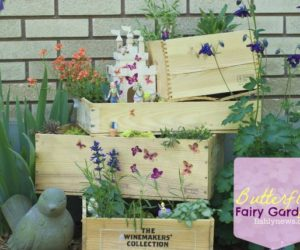 Come to a fairy-tale land with your own fairy garden