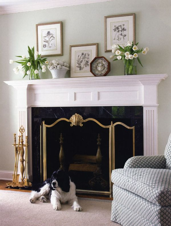 6 ways to decorate your mantle - Over the fireplace decor ...