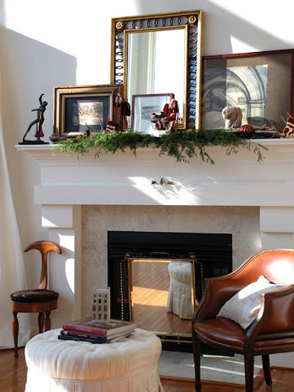 6 ways to decorate your mantle - Cool ways to decorate your room ...