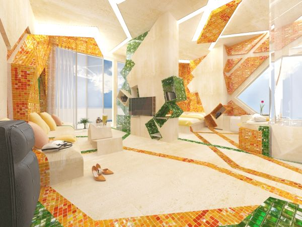 The Artistic In The Painting Hotel Room By Gemelli