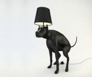 The unconventional Good Boy lamps