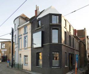 Unique Belgian corner house