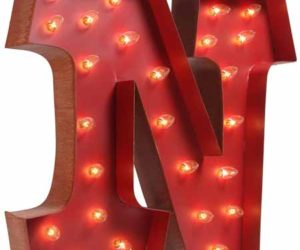 Lighted Carnival Letters