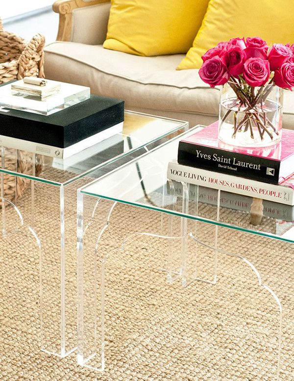 13 clever design tips and tricks for small spaces for How to make lucite furniture