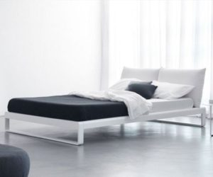 The stylish Martin bed by Enrico Cesana