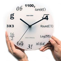 Nice A Mathematicianu0027s Clock Great Ideas
