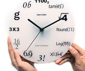 A Mathematician's Clock