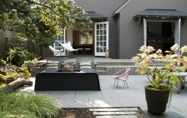 Backyard Picture how to create a modern rustic backyard