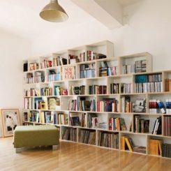 cuidado modular libraries shelves brickbox diseno bookcases en biblioteca