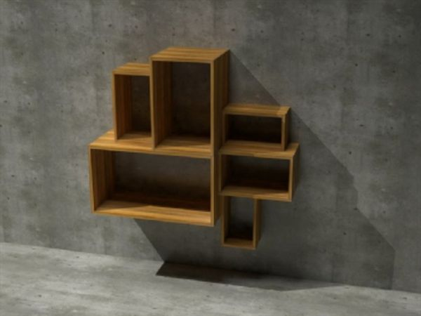Box System Made Of Mango Wood