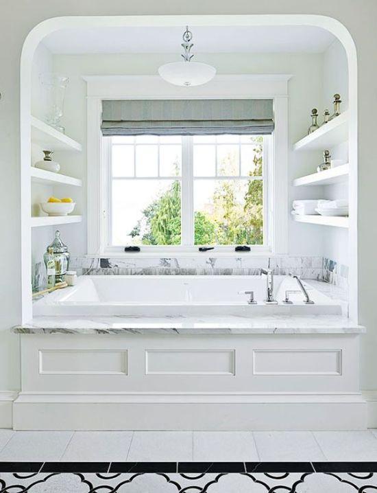 6 Ways To Make A Monochromatic Bathroom Pop! on Monochromatic Bathroom Ideas  id=67122