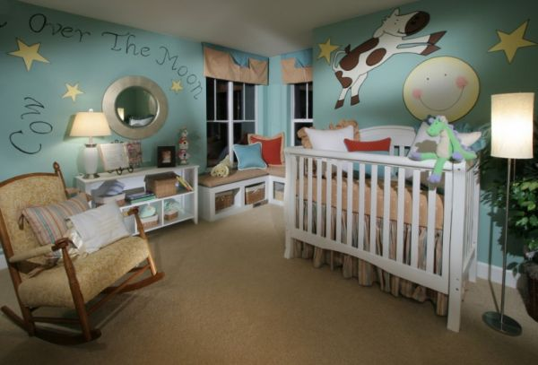 7 Inspiring Kid Room Color Options For Your Little Ones: Soothing, Monochromatic Nurseries: Tips & Tricks
