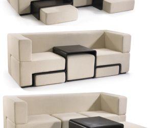 Modular Tillary Sofa · Modular Slot Sofa