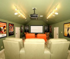 Decorating A Stylish & Comfy Movie Room