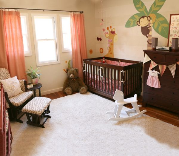 Monkey Themed Baby Room Ideas