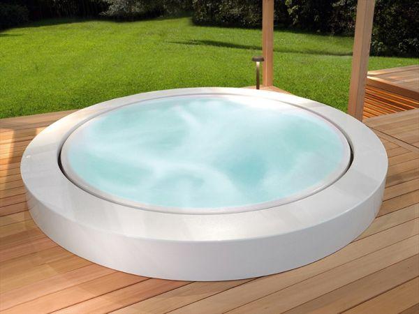 Outdoor Whirlpool Built In Minipool