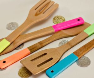 Brighten your kitchen beginning with your utensils