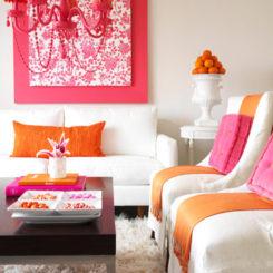 Trendy Color Combo: Pink U0026 Orange