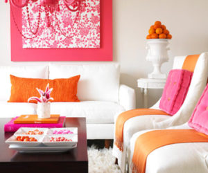 Trendy Color Combo: Pink & Orange