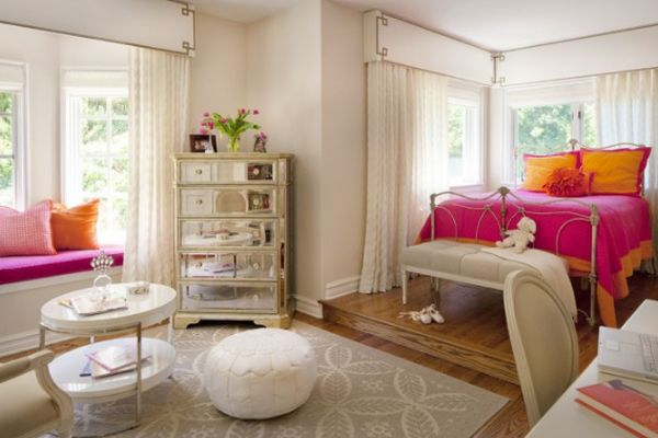 trendy color combo pink orange rh homedit com