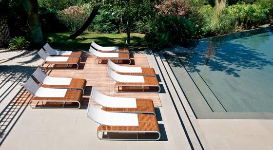 Stylish Ego Paris Lounge Pool Furniture