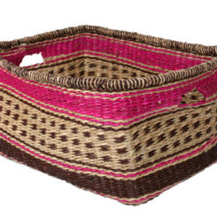 Superior Rectangular Zulu Storage Basket Nice Look