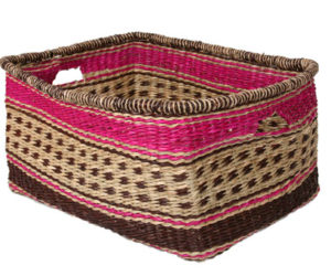 Rectangular Zulu Storage Basket