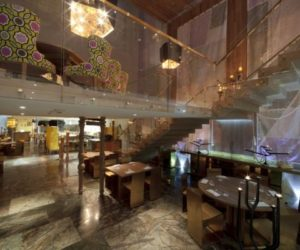 Morimoto Restaurant- a sophisticated interior design by Schoos Group