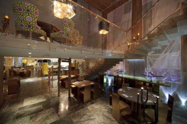 Morimoto Restaurant A Sophisticated Interior Design By