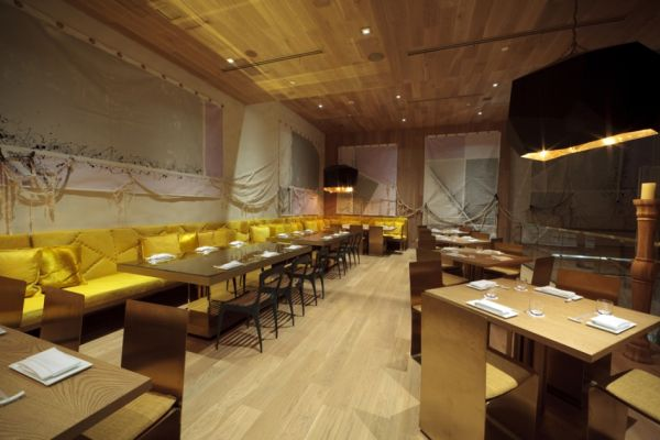 Morimoto Restaurant A Sophisticated Interior Design By Schoos Group