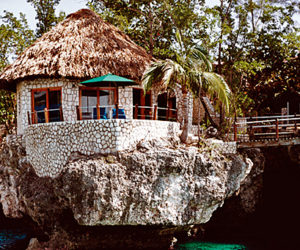 The Rockhouse Hotel in Negril,Jamaica