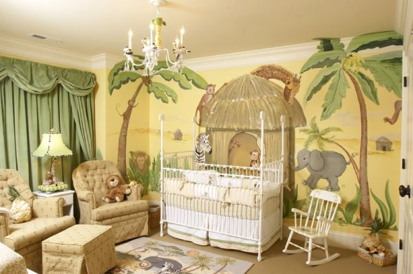 jungle themed living room jungle themed nurseries ideas amp inspiration 13969