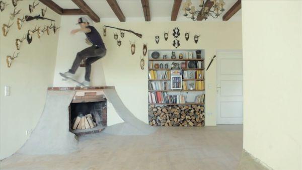 Villa Transformed Into An Indoor Skate Park Gallery