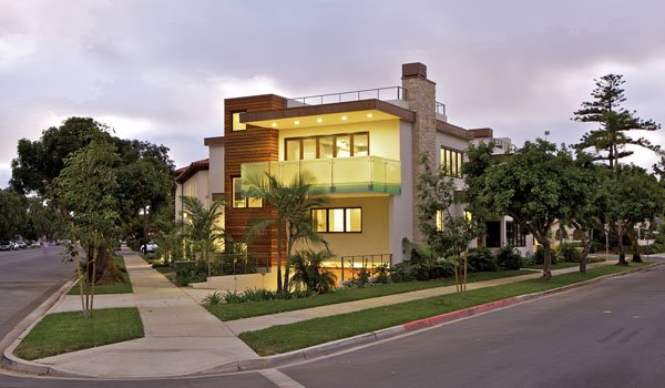 Modern single family in coronado by christian rice for Modern family house 90210