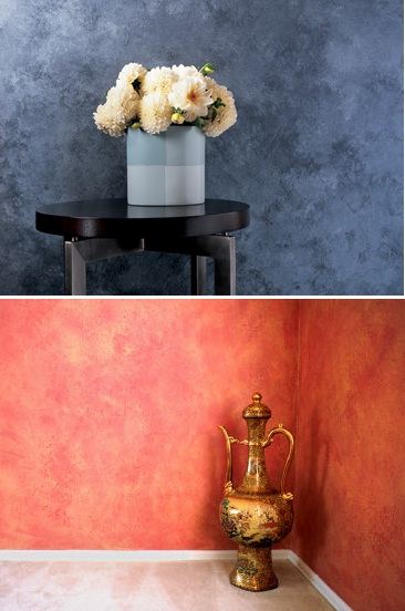5 fun ideas for sponge painting walls for Interior design decorative paint effects