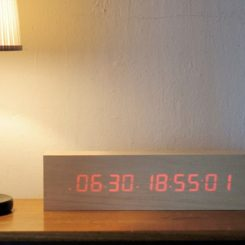 Exceptional To:Ca Digital Wooden Clock Amazing Ideas