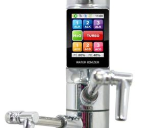The Tyent touchscreen water ionizer and purifier