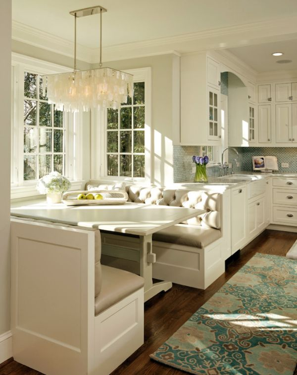 Turqoise Kitchen: Stylish Kitchen With Turquoise Inserts By Harry Braswell Inc