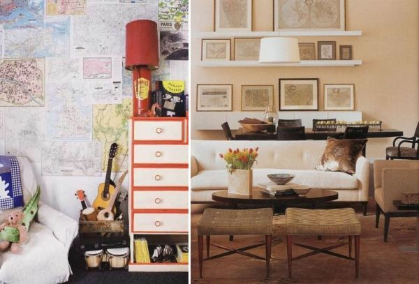 8 Unique And Fun Ways To Decorate With Maps Amazing Design