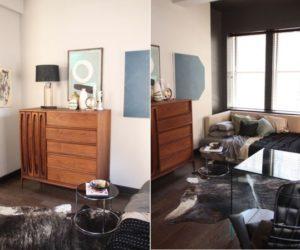 Vintage studio apartment in New York