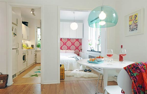 Design Small Apartments top 10 tiniest apartments and their cleverly organized interiors