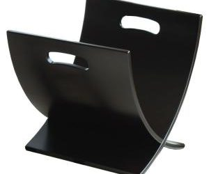 Contemporary Style Magazine Rack