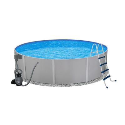 Wonderful Round Metal Wall Swimming Pool Gallery