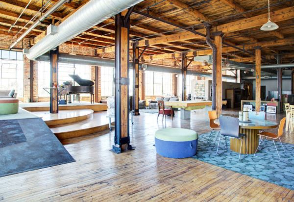 6 000 Square Feet Penthouse Loft In Detroit