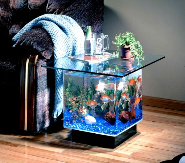A Fish Tank Side Table