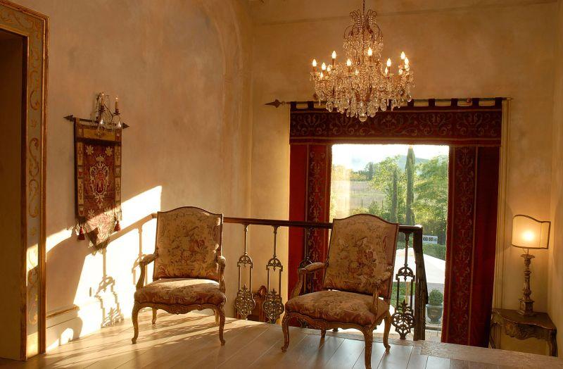 Borgo Santo Pietro hotel antique chairs