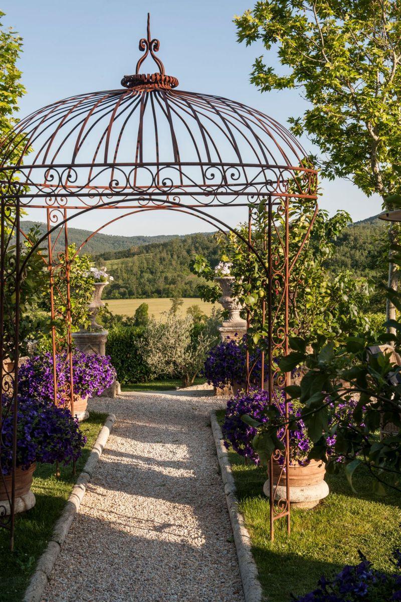 Borgo Santo Pietro hotel garden gazebo