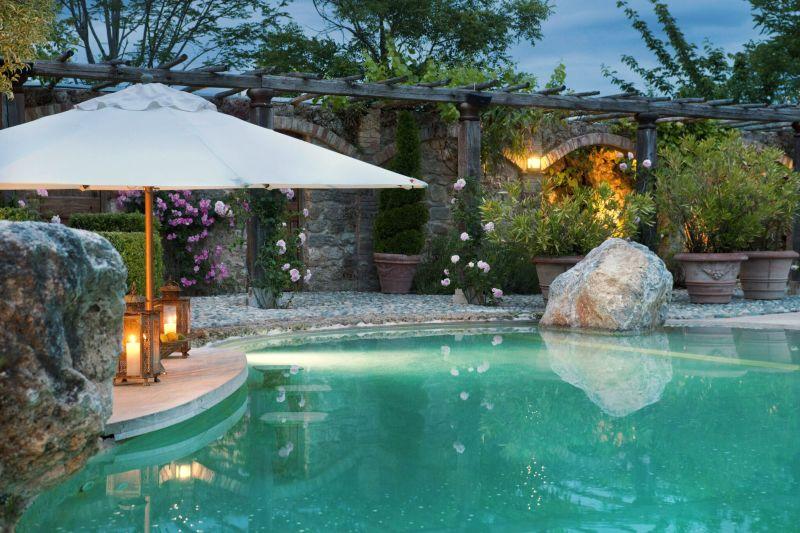 Borgo Santo Pietro hotel pool decor