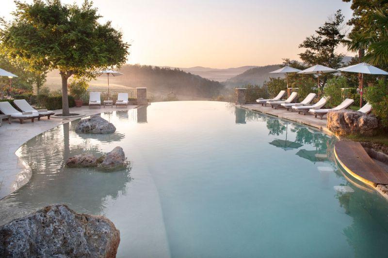 Borgo Santo Pietro hotel pool shape