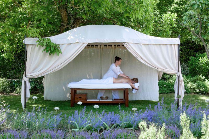 Borgo Santo Pietro hotel spa tent